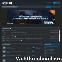 Najlepsze serwery Counter-Strike 1.6. 1cs.pl to jedno z większych i najlepszych forum cs jakie są w sieci Polskiej. Sieć serwerów 1cs.pl jest NAJLEPSZA! ./_thumb/1cs.pl.png