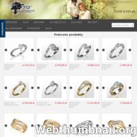 Znakomita biżuteria złota lub srebrna z wartościowymi kamieniami. Sklep posiada bardzo duży wybór pierścionków, zawieszek oraz kolczyków.
