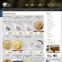 Sklep oferujący różne monety dla kolekcjonerów. Inwestycje w drogocenne przedmioty to doskonały pomysł na ulokowanie gotówki.