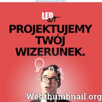 Agencja Reklamowa Kraków LedArt. Zaprojektujemy wizerunek Twojej firmy! Wizytówki, ulotki, roll-up, banery i inne. Zapraszamy.