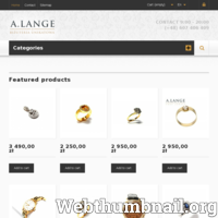 Antyczna, złota biżuteria używana z diamentami i brylantami. Dawna biżuteria z najwyższej półki w atrakcyjnych cenach. Oferujemy wspaniałe pierścionki, łańcuszki, kolczyki, naszyjniki, broszki, wisiorki, zawieszki, markowe zegarki. Wejdź na naszą stronę i zapoznaj się z naszą bogatą ofertą. Każdy produkt jest unikalny. Serdecznie zapraszamy ./_thumb/alange.pl.png