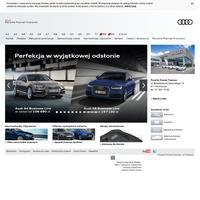 Porsche Poznań Franowo - Autoryzowany dealer Audi w Poznaniu w Wielkopolsce - Samochody Audi, Q7, A3, A4, A6, A8, TT, allroad quattro