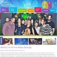 Balanga - wypożyczalnia strojów, dekoracje balonowe, organizacja imprez, atrakcje ślubne, artykuły na party. Sklep z artykułami imprezowymi dzięki któremu kompleksowo zaopatrzysz się we wszystko, aby zorganizować niezapomniane przyjęcie, imprezę, uroczystość.