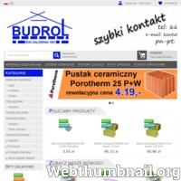 Skład budowlany Budrol oferuje materiały budowlane cement, cegły, pustaki, styropian. Oddziały Proszowice, Kocmyrzów, Kraków