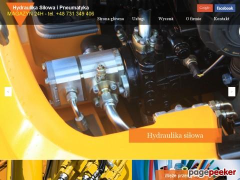 Centrum Hydrauliki Siłowej w Świdnicy założone zostało w marcu 2016 roku. Siedziba firmy zlokalizowana jest przy ul. Jodłowej 10, 58-100 Świdnica – jest to teren byłego RUCH-u. Jesteśmy młodą, prężnie rozwijającą się firmą. Dysponujemy dużym obiektem produkcyjno-usługowym wyposażonym w nowoczesne maszyny. Stale uzupełniamy magazyn o coraz to nowsze elementy do zastosowań hydrauliki siłowej oraz pneumatyki, a jakość posiadanych zasobów wyróżnia nas na tle konkurencji. Dzięki wyznaczanym celom nie stoimy w miejscu, lecz ciągle podnosimy standardy oferowanych usług. Elementy hydrauliki oraz pneumatyki dostarczają nam renomowani producenci tacy jak Hydropress, Eaton, Vickers, Hydac, Parker, Char-Lynn, Sufer Danfos, Hawe, Rexroth Bosch, Salami, Sun Hydraulics, Poclain Hydraulics, SKF czy PH (elementy ze stali nierdzewnej). Naszym wyznaczonym celem ma być sposób i innowacyjność podejścia do klienta. Wykonujemy kompleksowe usługi dostosowane każdorazowo do potrzeb klienta. Działamy na terenie ./_thumb/chss.pl.png