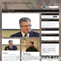 Nie Takie Stare Czarnowo - to portal informujący o bieżących wydarzeniach w gminie Stare Czarnowo. Jesteśmy tam gdzie inni nie docierają ./_thumb/czarnowo.com.pl.png