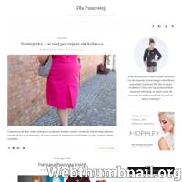 """Coraz bardziej widoczne jest, większe zainteresowanie modą plus Size. Wiele osób mających dodatkowe kilogramy ma jednak problem z doborem odzieży. Odzież w dużych rozmiarach powinna ukrywać a nie eksponować(jak w wielu wypadkach bywa),  naszą """"nadplanową mase"""". Na naszej stronie znajdziesz między innymi aktualne trendy w modzie Size Plus. Posiadamy artykuły pomocne w prawidłowym doborze odzieży dla osób puszystych. Sprawdź już teraz na http://dla-puszystej.pl"""