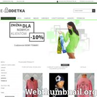Sklep internetowy z odzieżą nową i używaną, second hand, ubranka dla dzieci