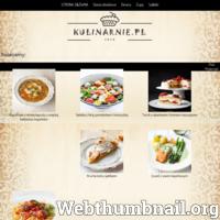 Na stronie kulinarnie.pl można odnaleźć wiele przepisów kulinarnych. Znajdziesz tu kilka propozycji na pyszne zupy, oryginalne sałatki a także tradycyjne dania obiadowe. Jeśli lubisz także coś na słodko, na stronie nie brakuje przepisów na pyszne ciasta, muffiny i torty. ./_thumb/ekulinarnie.pl.png