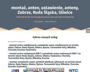 Firma TVSATSERWIS.NET wykonuje montaż naziemnej telewizji cyfrowej DVB-T jak i montaż anten satelitarnych w tym NC+, Cyfrowy Polsat, telewizja na kartę czy Orange. Zapewniamy też serwis w postaci ustawienia anten. Działamy w Gliwicach, Knurowie, Pyskowice, Zabrze, Mikołów, Ruda Śląska, Tarnowskie Góry, Bytom, Chorzów oraz okolice. Do swojej oferty usług wprowadziliśmy też: wieszanie telewizorów typu LCD - PLAZMA na ścianie,  itd. W razie pytań prosimy o kontakt: 883 324 829  ./_thumb/elsat-instal.pl.png