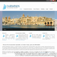 Fairwinds Management Limited is a company formation and administration specialist offering a wide range of corporate, legal and financial services. Our customer oriented methodology helps us achieve the objectives of our clients within a cost-effective structure - create company Malta, open company Malta, company formation Malta, set up company Malta, accountant company Malta. Since joining the European Union in 2004, Malta has become a hub for financial and corporate services and this has created the right environment for our company to operate and be able to offer our clients the best opportunities to maximise their profits within legitimate and transparent business structures.