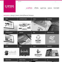 Agencja FOXmedia dla swoich klientów tworzy praktyczne, kreatywne i przemyślane rozwiązania. Wyróżnia nas kompleksowość oferty i nieszablonowe podejście do każdego zlecenia.  Posiadamy umiejętność trafnego diagnozowania potrzeb. Doradzamy rzetelnie, co skutkuje oszczędnościami naszych Klientów. W naszej ofercie znajdują się między innymi usługi z zakresu planowania strategii marketingowej, projektowania graficznego oraz produkcji i montażu różnego rodzaju reklam. ./_thumb/foxmedia.com.pl.png