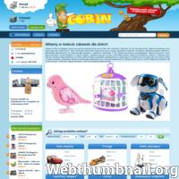 Firma ABIKON S.C. zajmuje się sprzedażą zabawek dla dzieci. Sklep internetowy gobin.pl to świat zabawek, bardzo chętnie odwiedzany przez dzieci oraz dorosłych. W ofercie sklepu znajduje się wiele ciekawych i fajnych zabawek m. in.: klocki Lego, lalki Monster High, pluszowe zabawki oraz wiele, wiele innych.  ./_thumb/gobin.pl.png