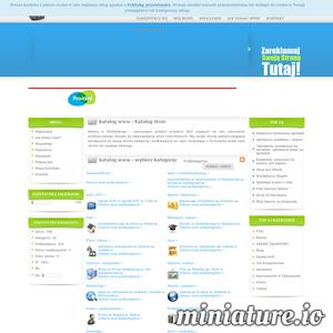 Witamy w iSuperKatalogSEO.pl - polskim projekcie SEO mającym na celu stworzenie profesjonalnego skryptu do katalogowania stron internetowych. Aby dodać stronę wybierz związaną tematycznie ze swoją stroną kategorię i podkategorię, po czym korzystając z formularza dodaj swój serwis do naszego katalogu. W naszym katalogu oferujemy swoim użytkownikom dodanie swojej strony do naszej bazy danych za darmo jak i możliwość dodatkowego wyróżnienia wpisu za niewielką opłatę. W ramach wpisu Gold(płatnego) wpis może znajdować się aż w 5 kategoriach, dodatkowo będzie w nich zajmował najwyższe miejsce, ponadto zostanie wyszczególniony w bocznym menu na stronie głównej i wyróżniony od innych wpisów indywidualną kolorystyką.