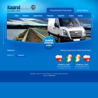 """Firma KAPRAL TRANS powstała w 2004r jako spółka """"córka"""" firmy """"matki"""" Usługi Transportowe Stanisław Kapral. Poprzez usługi na wysokim poziomie, staramy się wypełniać lukę w drobnicowym transporcie drogowym. Z roku na rok powiększamy swoją gamę pojazdów i stajemy się coraz bardziej rozpoznawalni.Oferujemy usługi transportu drogowego, zarówno krajowego jak i międzynarodowego. Specjalizujemy się w ekspresowych przewozach ładunków krajowych i międzynarodowych o masie do 10 ton. Od 2008 roku zaczęliśmy świadczyć również usługi kurierskie na trasie Polska - Irlandia."""