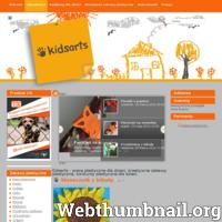 Kidsarts.pl to serwis dla dzieci, rodziców, nauczycieli. Znajdują się tutaj prace plastyczne dzieci, pomysły na kreatywne zabawy plastyczne dla dzieci, konkursy plastyczne dla dzieci. Przedstawiane tu pomysły można wykorzystać zarówno w domu, jak i na zajęciach z plastyki w szkole, przedszkolu. W serwisie znajduje się też galeria prac plastycznych dzieci, aktualne konkursy plastyczne i literackie dla dzieci. ./_thumb/kidsarts.pl.png