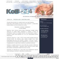 Firma KOB-24 wykonuje okresowe przeglądy budowlane, przegląd techniczny roczny i pięcioletni, prowadzi nadzór oraz książkę obiektu budowlanego. Nasza kadra posiada wieloletnie doświadczenie. ./_thumb/kob-24.pl.png