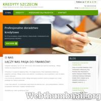 Kredyty Szczecin to serwis poświęcony kredytom bankowym. Na stronie dostępne są również informacje o takich zagadnieniach jak: doradcy kredytowi w Szczecinie, kredyty hipoteczne w Szczecinie, kredyty gotówkowe oraz kredyty dla firm.