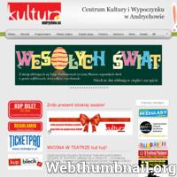 Centrum Kultury i Wypoczynku w Andrychowie. Internetowy serwis informacyjny - Witamy i zapraszamy do zapoznania się z programem imprez bieżących