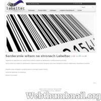 Zapraszam serdecznie do zapoznania się z ofertą firmy Labeltec. Przemysłowe drukarki kodów kreskowych - termiczne i termotransferowe etykieciarki firmy cab dzięki swej elastyczności i nowoczesności spełnią wymagania każdej aplikacji. Oprócz znanych już urządzeń drukarki etykiet do etykietowanie, etykieciarki i napełniania produktów oferujemy także nalewarki i zakręcarki. Dla najbardziej wymagających klientów oferujemy rozwiązania oparte o głowice etykietujące niemieckiej firmy Herma. Jesteśmy ich przedstawicielem i oferujemy pełna gamę ich produktów. Serdecznie zapraszamy.