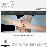 Kompleksowo wspieramy klienta po przez odszkodowania powypadkowe i komunikacyjne. ./_thumb/lexodszkodowania.pl.png