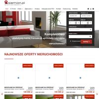 Biuro nieruchomości Siemion.pl sp. z o.o. -  sprzedaż, wynajem nieruchomości. Pośrednictwo kredytowe i ubezpieczeniowe PZU. ./_thumb/nieruchomosci.siemion.pl.png