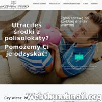 Kancelarię Adwokacko-Radcowską Anczewska i Puńko z siedzibą we Wrocławiu tworzą doświadczeni adwokaci, radcowie prawni, a także aplikanci, którzy specjalizują się w prowadzeniu spraw z zakresu odzyskiwania opłat likwidacyjnych oraz zamykaniu polisolokat bez utraty przez klienta zgromadzonych środków. Świadczymy kompleksową pomoc na każdym etapie prowadzonej sprawy. Zachęcamy do kontaktu z naszą kancelarią.