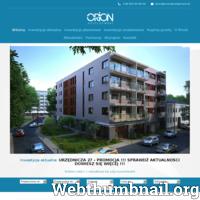 Niemal 20 lat na rynku sprawiło, że Orion Development stworzyło wiele znakomitych projektów. Korzystanie z usług najlepszych profesjonalistów daje pewność, że ich osiedla mieszkalne są wykonane doskonale. Obecnie tworzą oni nowe osiedle, które zapewni Wam dogodne życie w miłej okolicy. Na ten moment tworzą budynek w Łodzi. Nowocześnie wykonane mieszkania, których ilość wynosi 24. Są to przestronne 2 i 3-pokojowe lokale. Całość łączyć będzie ze sobą najnowsze rozwiązania architektury z drewnianymi wykończeniami z najlepszej klasy materiałów. W pełni zabezpieczone osiedle, place zabaw, dogodna lokalizacja. To wszystko sprawia, że ich najnowszy projekt będzie niezwykle ciekawy. Każdy lokal wykonany jest z najwyższą starannością, dzięki czemu będziecie mogli urządzić w dowolny, wymarzony sposób. Zapraszamy do kontaktu!
