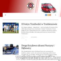Oficjalna strona Ochotniczej Straży Pożarnej w Nurzynie. Aktualności, zdarzenia, akcje.