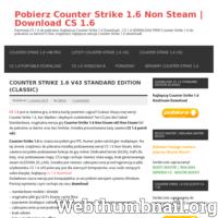 Pobierz najlepszą wersję CS 1.6 za darmo. Najlepszy Counter Strike 1.6 free – Download  wszystkich wersji cs v23, v32, v43, v48, v52 i inne bez limitu.