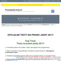 Serwis umożliwia zakup blisko stu różnych zestawów egzaminacyjnych z oficjalnymi pytaniami z Ministerstwa Infrastruktury i Budownictwa. Dzięki temu można sprawdzić swoją wiedzę lub poszerzyć ją. Przygotowania do egzaminu na prawo jazdy bywają trudne - strona pomaga wszystkim, którzy obawiają się pytań, których mogliby normalnie nie znać. ./_thumb/prawojazdy-testy.pl.png