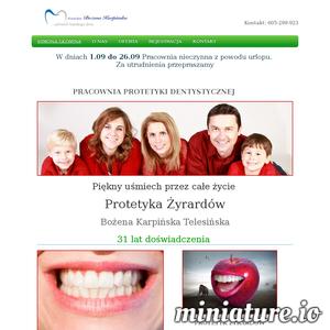 Nasza pracownia protetyczna zajmuje się wszechstronnymi usługami z zakresu protetyki stomatologicznej. Od samego początku naszego istnienia tworzymy i sprzedajemy pełną gamę wszelkiego rodzaju protez zębowych. Zapewniamy wysoką trwałość naszych