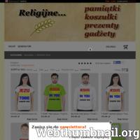 Religijne to sklep internetowy, w którego ofercie znajdują się gadżety i upominki nawiązujące do religii katolickiej oraz świętych osób. Sklep oferuje wartościowe produkty, takie, jak koszulki, kubki, przypinki czy bluzy, wyróżniające się wysoką jakością wykonania oraz stylowym nadrukiem związanym z katolicyzmem.