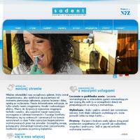 Gabinet stomatologiczny; specjalizacja: leczenie protetyka,usługi dentystyczne.Sadent Małgorzata Sabuda. ./_thumb/sadent.pl.png