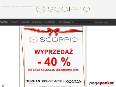 Sklep Scoppio zajmuje się sprzedażą ubrań Włoskich i Francuskich na terenie Wrocławia i okolic.