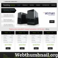 Hosting www to w jednym zdaniu, udostępnianie serwerowni przez dostawcę usługi internetowej. Mówiąc prosto to czynność polegająca na czymś w rodzaju rezerwacji jakiejś określonej objętości dysku twardego. Można wtedy przesyłać maksymalna ilość danych przez łącza tej danej serwerowni, z której aktualnie korzystamy. Możemy również korzystać z jakiejś bazy danych udostępnionych przez serwerownię. Dostawca takiej usługi ma obowiązek dbania o stałe i dobre sprawowanie się dysków i serwera. Musi dopilnować, aby serwer miał stałe połączenie z Internetem.