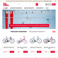 Sklep SkiRaceCenter oferuje rowery Giant, narty Salomon oraz Atomic, odzież, buty narciarskie. Sklep sportowy w Pruszkowie oraz sklep internetowy.