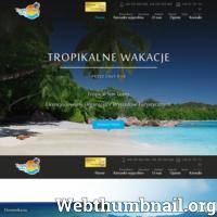 Polski licencjonowany organizator wyjazdów zaprasza na Dominikanę, Seszele, Mauritius. Na stronie znajdziesz także wycieczki typu All Inclusive oraz Last Minute. ./_thumb/tropicalsun.pl.png