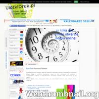 Oferujemy druk wizytówek, plakatów, kalendarzy itp. ulotkidruk.pl Internetowa drukarnia online dla Ciebie.