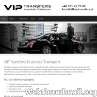 VIP Transfers - Transport dla Klientów biznesowych i prywatnych. Wynajem kierowcy. Transfery lotniskowe. Kraków, Warszawa, Wrocław, Katowice.