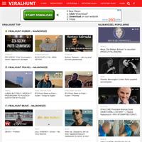 ViralHunt Polska to największy serwis agregujący i porządkujący najpopularniejsze treści i memy w polskim internecie o viralowym zasięgu. VIRAL TOP POLSKA ./_thumb/viralhunt.pl.png