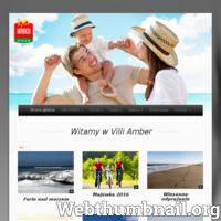 Villa Amber - domki i pokoje nad morzem Villa Amber powstała w 2011 roku na bazie doświadczenia i pasji ludzi, których celem jest zapewnienie wygodnego wypoczynku i przystani dla osób podróżujących nad Morze Bałtyckie o każdej porze roku. Miejsce, w którym położony jest Nasz obiekt jest niezwykle atrakcyjne turystycznie. Villa znajduje się bliskiej odległości od Morza Bałtyckiego, zaledwie kilka minut spacerem dzieli teren obiektu od pięknej, szerokiej i piaszczystej plaży. Panuje tu wspaniały nadmorski mikroklimat,  a atrakcyjna i spokojna okolica jest doskonałym miejscem dla osób szukających odosobnienia i intymności. Villa Amber oferuje Państwu komfortowe pokoje z klasycznie urządzonym wnętrzem w jasnej tonacji. Każdy pokój dysponuje łazienką wyposażoną w kabinę prysznicową z deszczownicą, umywalką i wc. W Naszej ofercie znajdują się pokoje dwu-, trzy- i czteroosobowe.  Jeśli chcesz wypocząć, odprężyć się i zrelaksować w komfortowych warunkach zapraszamy Ciebie do nowo wybudowany