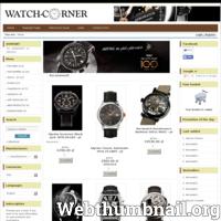 Sklep Watch-Corner oferuje luksusowe zegarki z gwarancją autentyczności i jakości. Szybko i bezpiecznie. Każdy nasz klient musi być zadowolony z zakupu i obsługi.Mamy dużą wiedzę na temat zegarków i oferujemy fachowe doradztwo.