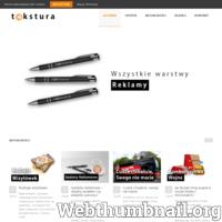 Profesjonalna obsługa i kompleksowe rozwiązania reklamowe dla Twojej firmy. Agencja TEKSTURA Siedlce - reklama, drukarnia, strony internetowe.