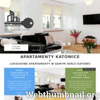 Apartamenty Katowice - Luksusowe Apartamenty w samym centrum Katowic. Idealne miejsce na wypoczynek. Oferujemy tanie w pełni wyposażone apartamenty w centrum Katowic.