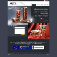 Firma APEX oferuje ogromny wybór produktów z branży ręcznie zdobione szkło malowane. Cztery niebanalne linie ozdobnych wazonów szklanych z asortymentu APEX to elegancka dekoracja każdego salonu. Zachęcamy do kontaktu z firmą APEX za pośrednictwem formularza kontaktowego dostępnego na firmowej stronie internetowej.