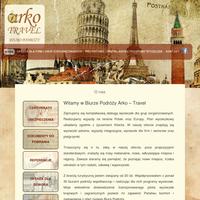 Arko-Travel to nowe biuro podróży zatrudniających jednak samych doświadczonych rezydentów i przewodników. Firma oferuje wycieczki krajowe i zagraniczne dla grup zorganizowanych (szkoły, zakłady pracy) i klientów indywidualnych.