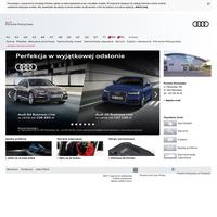 Porsche Połczyńska - Autoryzowany dealer Audi w Warszawie w Mazowieckim - Samochody Audi, Q7, A3, A4, A6, A8, TT, allroad quattro