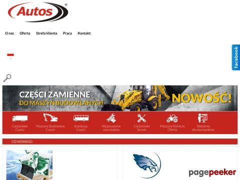 Autos.com.pl to solidny partner dla mechaników oraz kierowców zawodowych. Firma prowadzi szeroki wachlarz działań związanych z usługami oraz sprzedażą podzespołów do samochodów ciężarowych, tirów, autobusów czy maszyn budowlanych. W bogatej ofercie Autos znajdziecie między innymi części do renomowanych producentów samochodów ciężarowych jak części Scania, Daf czy Iveco. Oferta  Autosu to również narzędzia do warsztatu samochodowego, części do naczep, obrotnica do przyczepy czy  lodówki samochodowe do ciężarówek. ./_thumb/www.autos.com.pl.png