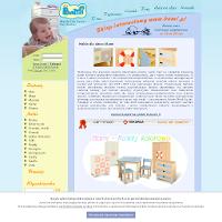 Szukasz profesjonalnej firmy, dzięki której uzyskasz okazje zupełnego wyposażenia pomieszczenia dziecięcego? Jeśli zamierzasz to zrobić zapraszamy do przejrzenia oferty firmy bami.pl która jest wiodącą firmą w rozprowadzaniu najlepszego zbioru asortymentu dostosowanego do wnętrz dla brzdąców. Przedstawiamy zarówno meble możliwe do kupna na sztuki i komplety dostępne na firmowej stronie www. Więcej szczegółów na ten temat znaleźć można bezpośrednio na na naszej stronie www. ./_thumb/www.bami.pl.png